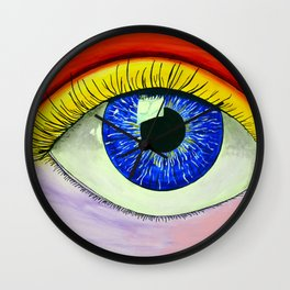 Color Vision RB Wall Clock
