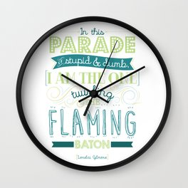 In this Parade of Stupid & Dumb Wall Clock