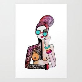 Guapa Art Print