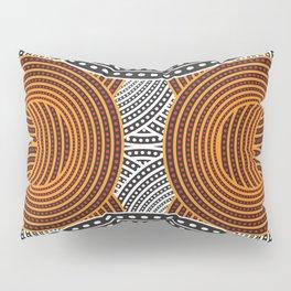 modern aboriginal pillow sham