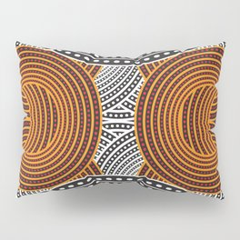 Modern Aboriginal Pillow Sham