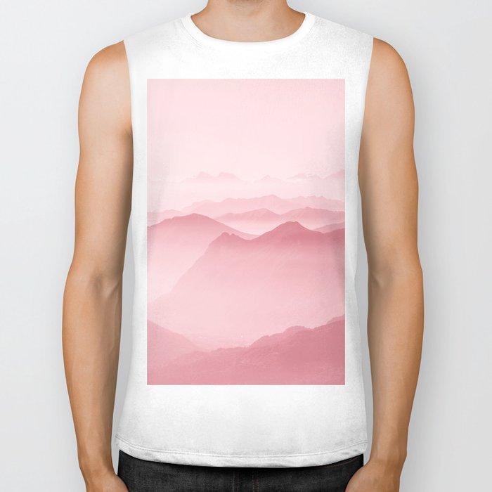 Pink Forest Biker Tank