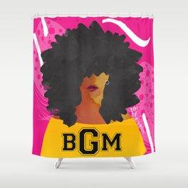 SCHOOL OF BLACK GIRL MAGIC Shower Curtain