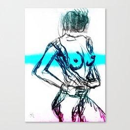 Sexy Ladies 00 Canvas Print