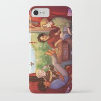 marauders iPhone & iPod Cases featuring Marauders by batcii