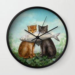 Enjoy Your Dinner Wall Clock