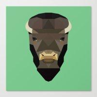 buffalo Canvas Prints featuring Buffalo by Alysha Dawn