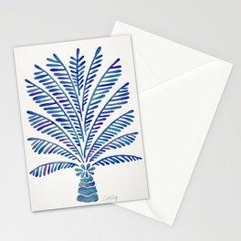 Palm Tree – Navy Palette Stationery Cards