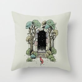 Forest Gate Throw Pillow