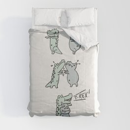 Mr Croc and Friends: T-Rex Comforters