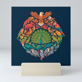 Aerial Rainbow Mini Art Print