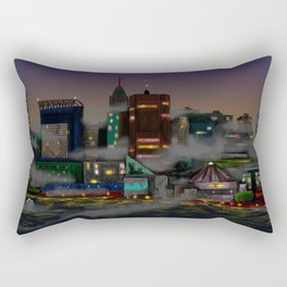 Baltimore Skyline Rectangular Pillow