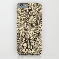 Doodles and Swirls II iPhone 6s Slim Case