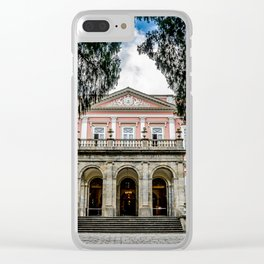 Imperial Museum Clear iPhone Case