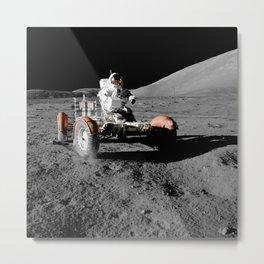 Apollo 17 - Moon Buggy Metal Print