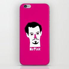 Mr pink iPhone & iPod Skin