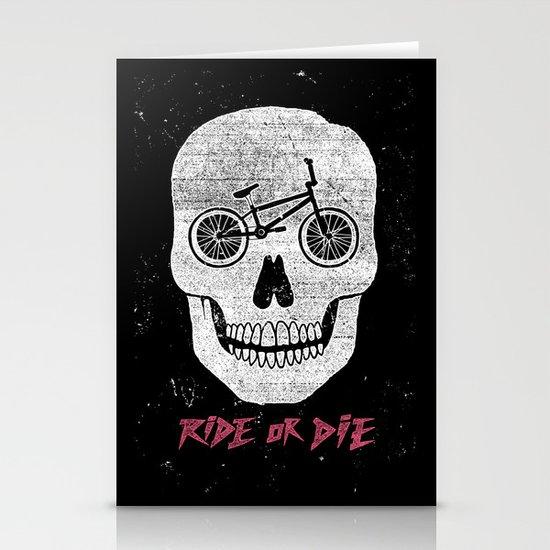 Ride Or Die Stationery Cards
