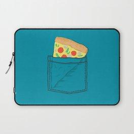 Emergency supply - pocket pizza Laptop Sleeve