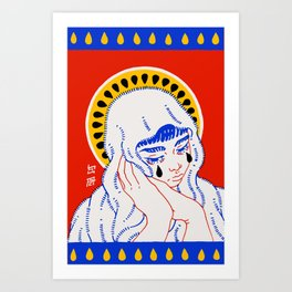 Our Lady of Perpetual Exhaustion Art Print