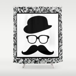 Cool Face Shower Curtain