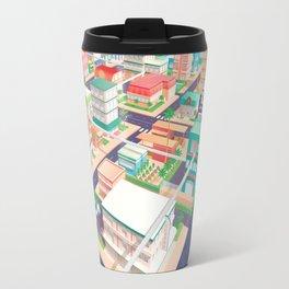 Vector Tropics Travel Mug