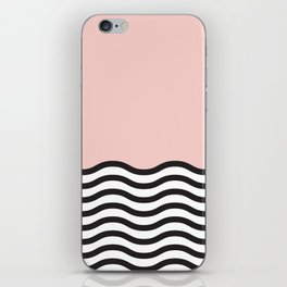 Waves of Pink iPhone Skin