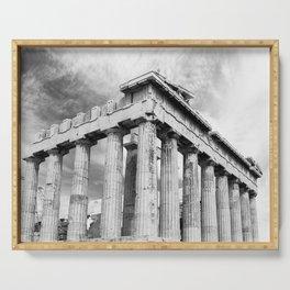 Mystical Parthenon Serving Tray