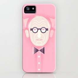 An illustrated celebration of Wally Olins CBE 1930 - 2014 iPhone Case