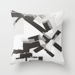 Broken Pieces  Throw Pillow
