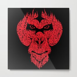 The Ape Man - The Beast Within Metal Print