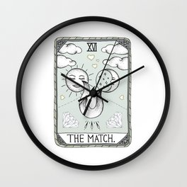The Match Wall Clock