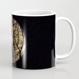 Full Moon though the trees Coffee Mug