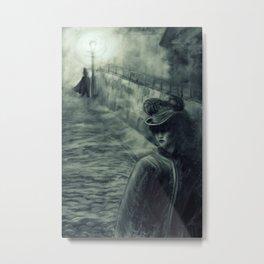 Whitechapel by Gaslight Metal Print