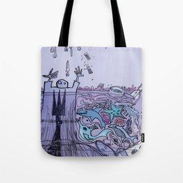 THE COAST OF OKLAHOMA Tote Bag