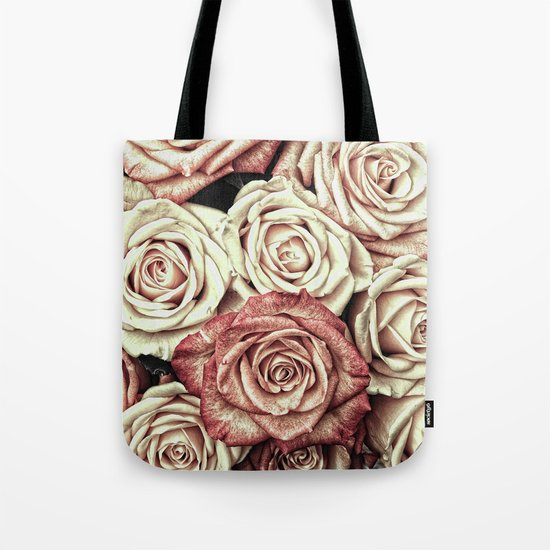 A Bed of Roses Tote Bag