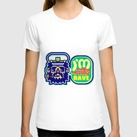 rave T-shirts featuring I'm Into Rave by chobopop