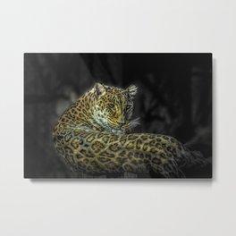 The Leopard Metal Print