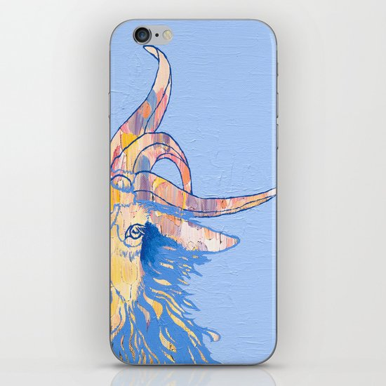 5-horned Goat iPhone & iPod Skin