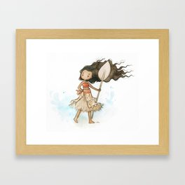 Moana Framed Art Print