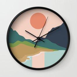 Sun reflection Wall Clock