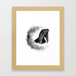 Away Framed Art Print