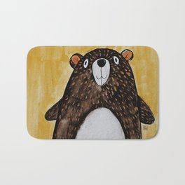 Mr. Bear Bath Mat