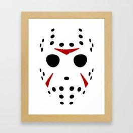 Jason 13th Framed Art Print