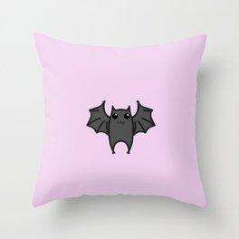 Rose Bite Throw Pillow
