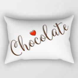 Chocolate Love Rectangular Pillow