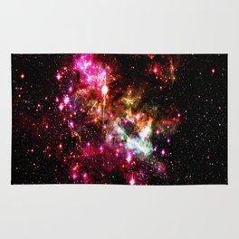 Tarantula Nebula Astral Fireworks Rug