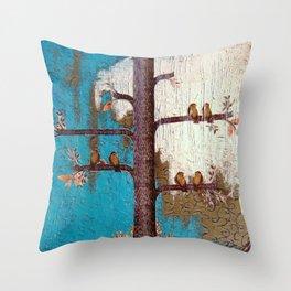 Birds of a Feather Throw Pillow