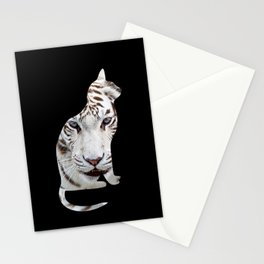BIG AND SMALL CAT Stationery Cards