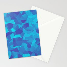 Geometric Shapes Fragments Pattern pb Stationery Cards