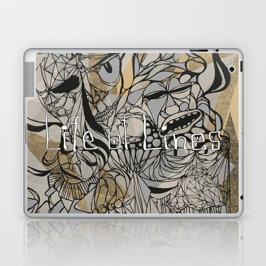 Life of Lines Laptop & iPad Skin